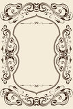 Ornate perfect page Royalty Free Stock Image