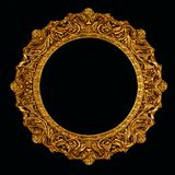 Ornate picture or mirror frame. Old ornate picture or mirror frame pattern repeat Stock Photos