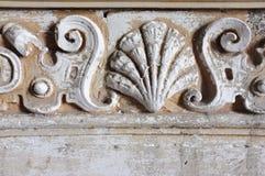 Ornate Plaster Molding Stock Photo