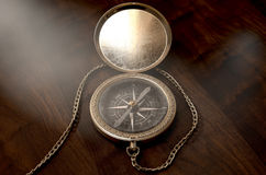 Ornate Pocket Compass Stock Photography
