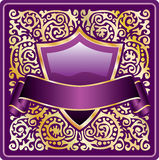 Ornate purple Royalty Free Stock Photography