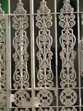 Ornate railings Royalty Free Stock Image