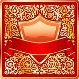Ornate red Stock Image