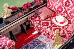 Free Ornate Retro Gondola In Venice Stock Photos - 93492293
