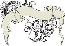 Ornate ribbon Royalty Free Stock Photos