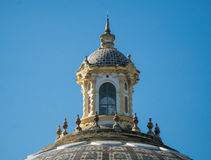 Ornate roof top Stock Photo
