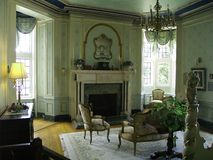 Ornate Room. An ornately decorated room in a large mansion royalty free stock image