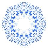 Ornate round lace pattern Stock Photo