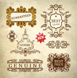 Ornate royal luxury premium quality and guarantee Stock Photo