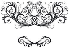 Ornate Scrolls Royalty Free Stock Photo