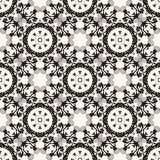 Ornate seamless floral pattern, decorative  wallpaper. Royalty Free Stock Image