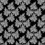 Ornate seamless  floral Wallpaper for design Stock Photo