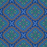 Ornate seamless oriental pattern Royalty Free Stock Image