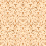 Ornate seamless pattern Royalty Free Stock Photos