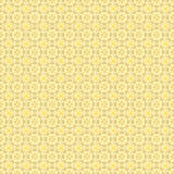 Ornate seamless pattern, interlaced lines. Shades of yellow. The swatch is included in vector file. Arabic style Royalty Free Stock Photos