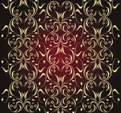 Ornate seamless texture Royalty Free Stock Photos
