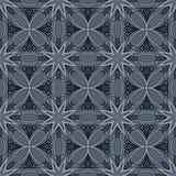 Ornate Seamless Tribal Pattern Stock Image