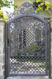 Ornate security gate Royalty Free Stock Images