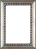 Ornate Silver Picture Frame Royalty Free Stock Images