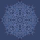 Ornate snowflake Stock Photo