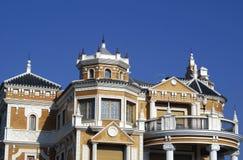 Ornate Spanish facade Royalty Free Stock Photos