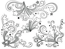 Ornate stars Stock Photography