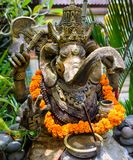 An ornate statue of Ganesha with a swastika on his hand 2 Royalty Free Stock Images