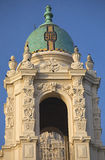 Ornate Steeple Mission Dolores San Francisco Royalty Free Stock Photo