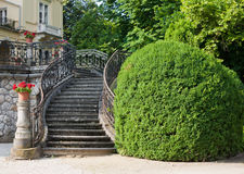 Ornate steps Stock Image