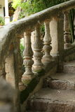 Ornate stone balustrade Royalty Free Stock Photo