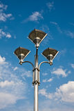 Ornate Street Lamp Stock Image