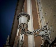 Ornate Street Lamp in Spain Stock Photos