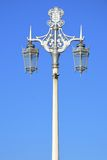 Ornate street lamps in portrait Royalty Free Stock Photography