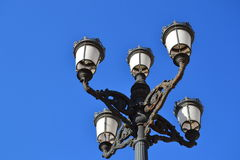Ornate street lanterns Royalty Free Stock Photography
