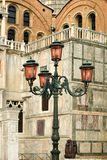 Ornate Street Lights Stock Photo