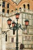 Ornate Street Lights Stock Photo