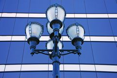 Ornate street lights Royalty Free Stock Photography