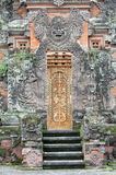 Ornate Temple Door - Bali Royalty Free Stock Image