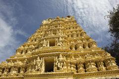 Ornate temple mysore Royalty Free Stock Photography