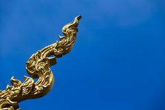 Ornate thai stucco Royalty Free Stock Photography