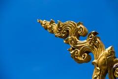 Ornate thai stucco Stock Photography