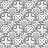 Ornate tile Stock Image