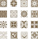 Ornate Tiles Stock Photography
