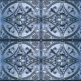 Ornate Tin Ceiling Tiles royalty free stock photo