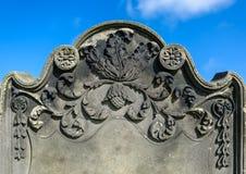 Ornate Tombstone Royalty Free Stock Photos