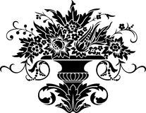 Ornate vase Stock Photo
