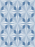 Ornate vector abstract background with white lines. Symmetric de Stock Photo
