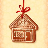Ornate vector traditional christmas sweet house Royalty Free Stock Photos