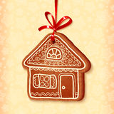 Ornate vector traditional christmas sweet house Stock Photo