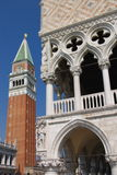 Ornate Venice architecture Royalty Free Stock Photo